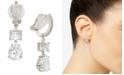 Eliot Danori Crystal Drop Clip-On Earrings, Created for Macy's