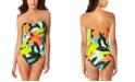 Anne Cole Bandeau One-Piece Swimsuit