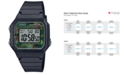 Casio Men's Chronograph Digital Black Resin Strap Watch 41mm