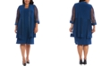 R & M Richards Plus Size Embellished Dress & Jacket