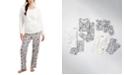 Family Pajamas Matching Women's Polar Bears Family Pajama Set, Created for Macy's