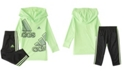 adidas Baby Boys Long Sleeve Motivation Hooded Tee Set