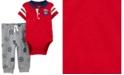 Carter's Baby Boy  2-Piece Varsity Bodysuit Pant Set