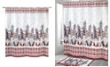 "Avanti Christmas Gnomes 72"" x 72"" Shower Curtain"