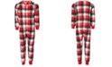 Family Pajamas Matching Kids Buffalo Check One Piece Created for Macy's