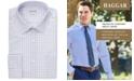 Haggar Men's Slim-Fit Comfort Stretch Check Dress Shirt