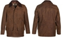 Schott NYC Men's Nubuck Cowhide Barn Coat