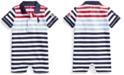 Polo Ralph Lauren Ralph Lauren Baby Boys Cotton Mesh Polo Shortall