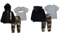Levi's Baby Boys T-Shirt, Joggers and Zip Hoodie Set