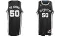 adidas Men's Sleeveless San Antonio Spurs Nickname Swingman Jersey