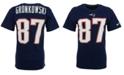 Nike Men's Short-Sleeve Rob Gronkowski New England Patriots Player T-Shirt