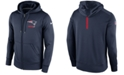 Nike Men's New England Patriots Sideline KO Fleece Full-Zip Hoodie