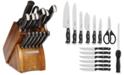 Sabatier 15-Piece Acacia Block Cutlery Set