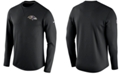 Nike Men's Baltimore Ravens Modern Crew Long-Sleeve T-Shirt