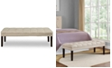 Samuel Lawrence Brecken Upholstered Panel Tufted Bed Bench