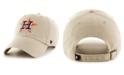 '47 Brand Houston Astros Khaki CLEAN UP Cap