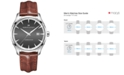 Hamilton Men's Swiss Jazzmaster Light Brown Leather Strap Watch 40mm