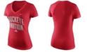 Nike Women's Ohio State Buckeyes Local Phrase V T-Shirt