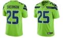 Nike Men's Richard Sherman Seattle Seahawks Limited Color Rush Jersey