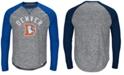 Majestic Men's Denver Broncos Corner Blitz Raglan Long Sleeve T-Shirt