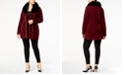 Belldini Plus Size Faux-Fur-Trim Cardigan