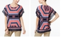 JM Collection Chiffon-Trim Dolman-Sleeve Top, Created for Macy's