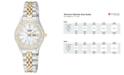 Citizen Women's Two Tone Stainless Steel Bracelet Watch 26mm EQ0534-50D