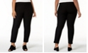 Eileen Fisher Plus Size Washable Crepe Slim-Leg Ankle Pants