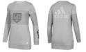 adidas Women's Los Angeles Kings Inside Logo Outline Sweatshirt