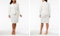 Kasper Plus Size Crepe Jacket & Sheath Dress