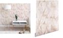 Deny Designs Schatzi Brown Island Goddess Leaf Creme 2'x4' Wallpaper