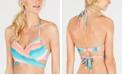 SUNDAZED Simone Halter-Neck Wrap Bikini Top