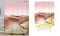 Deny Designs Iveta Abolina Coral Heat Shower Curtain