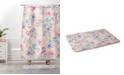 Deny Designs Iveta Abolina Sweet Stella Green Bath Mat