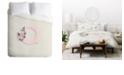 Deny Designs Iveta Abolina Pivoine Q Twin Duvet Set