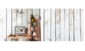 Brewster Home Fashions Pale Wood Wall Mural