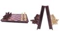 John N. Hansen Co. Wood Magnetic Chess Set