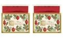 Masterpiece Studios Masterpiece Cards Christmas Holiday Boxed Cards, 16 Cards and 16 Envelopes