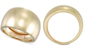 Italian Gold Polished Statement Ring in 14k Gold