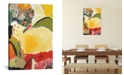 """iCanvas """"Yellow Hill"""" By Kim Parker Gallery-Wrapped Canvas Print - 26"""" x 18"""" x 0.75"""""""