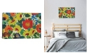 """iCanvas """"Zinnia Meadow"""" By Kim Parker Gallery-Wrapped Canvas Print - 26"""" x 40"""" x 0.75"""""""