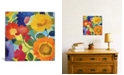 """iCanvas """"Market Flowers Ii"""" By Kim Parker Gallery-Wrapped Canvas Print - 18"""" x 18"""" x 0.75"""""""