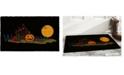 """Home & More Halloween Welcome 17"""" x 29"""" Coir/Vinyl Doormat"""