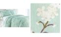 Southshore Fine Linens Forget Me Not Cotton Reversible 3 Piece Duvet Cover and Sham Set, King