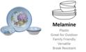 Certified International Hydrangea Garden Melamine 5-Pc. Salad/Serving Set