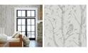 """Brewster Home Fashions Neptune Forest Wallpaper - 396"""" x 20.5"""" x 0.025"""""""