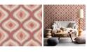 "Brewster Home Fashions Abra Ogee Wallpaper - 396"" x 20.5"" x 0.025"""