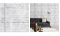 "Brewster Home Fashions Smooth Concrete Wallpaper - 396"" x 20.5"" x 0.025"""