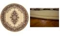 Bridgeport Home Birsu Bir1 Ivory 8' x 8' Round Area Rug