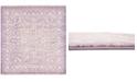 Bridgeport Home Norston Nor1 Purple 8' x 8' Square Area Rug